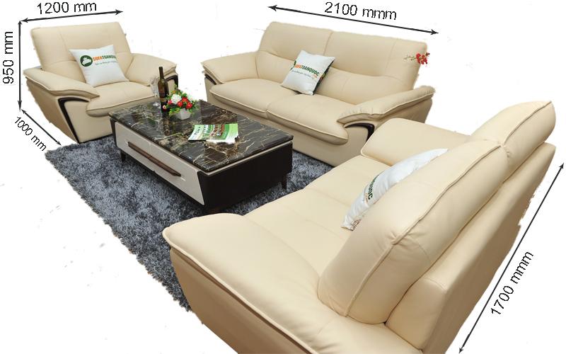 Sofa da nhập khẩu mã TQ-02-1