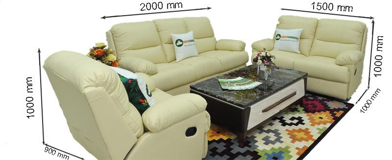 Sofa da nhập khẩu mã TQ-06-1