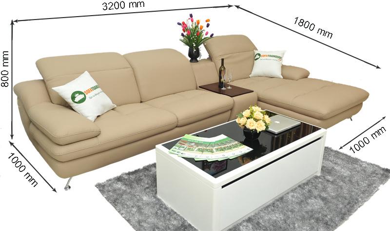 Sofa da nhập khẩu mã TQ-09T-1