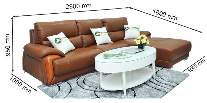 Sofa da nhập khẩu mã QV-638T-1