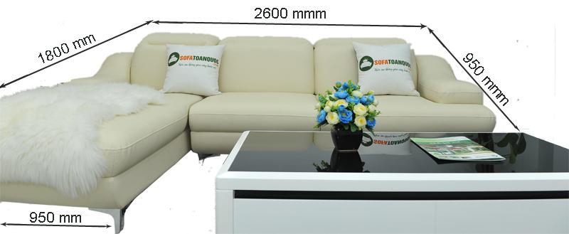Sofa da mã TN-03P 1