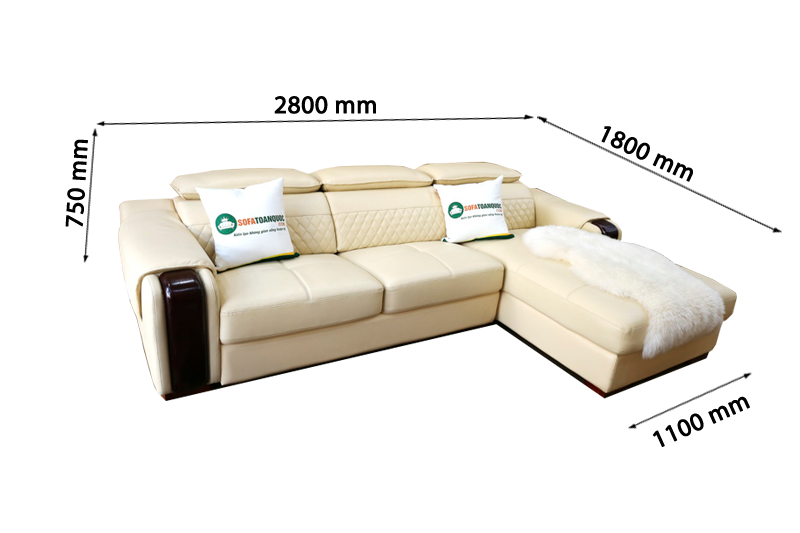 Sofa da nhập khẩu mã VH-04T 1