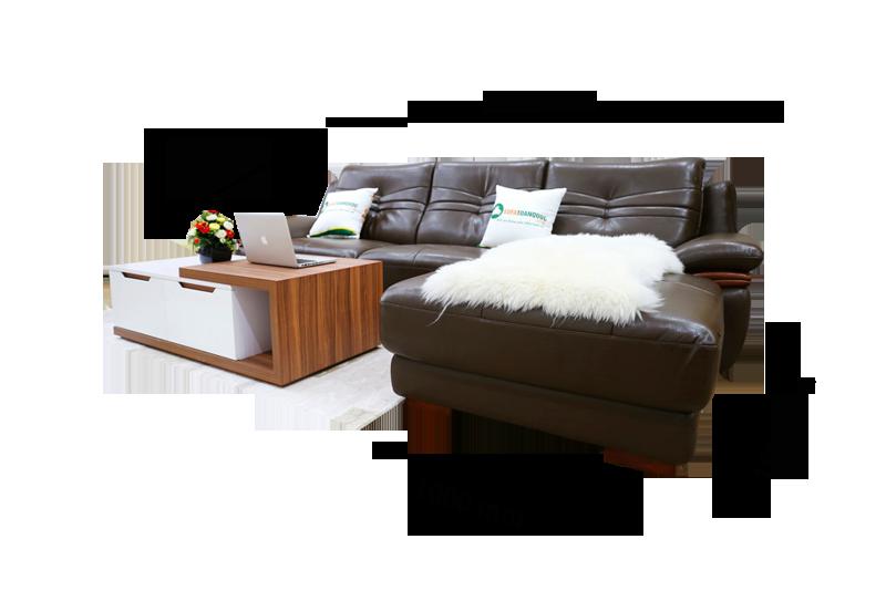 Sofa da nhập khẩu mã VH-05T 1