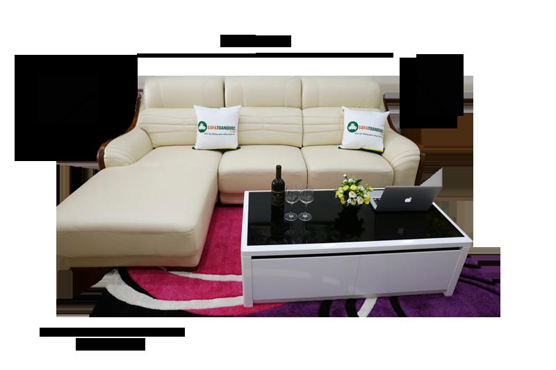 Sofa da nhập khẩu mã VH-10P 1