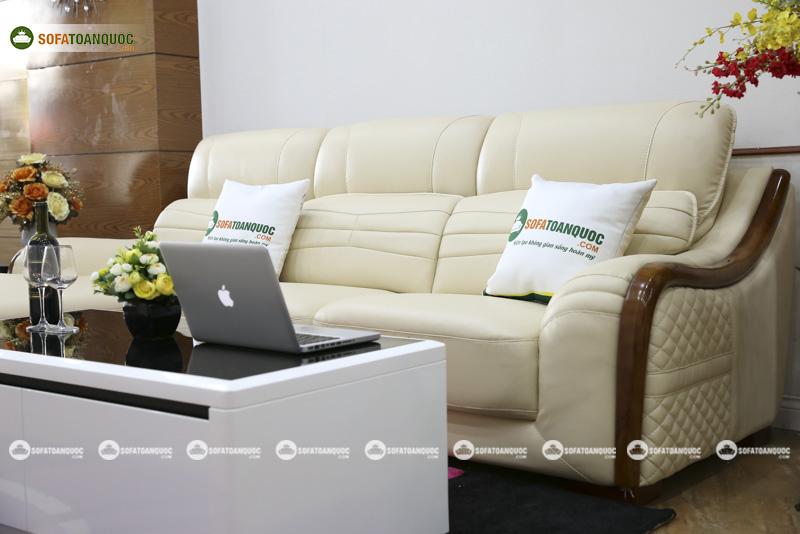 Sofa da nhập khẩu mã VH-10P 4