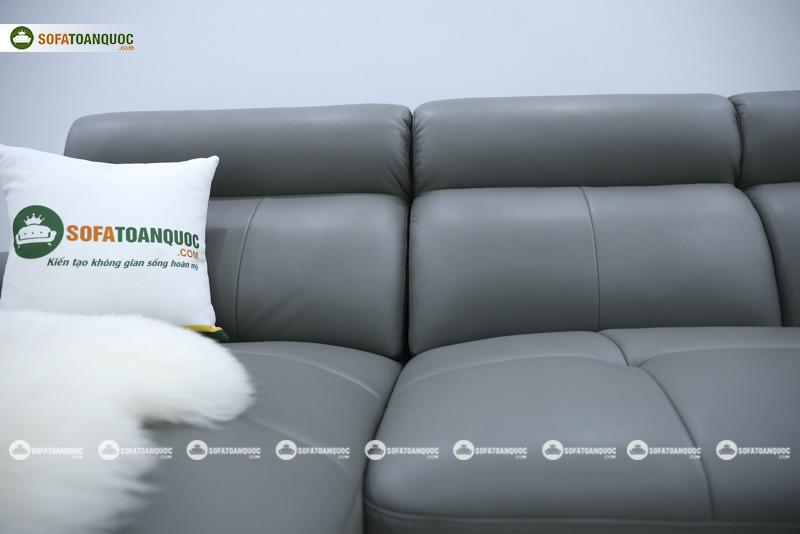 Ghế sofa da nhập khẩu mã QV-F1230P-6