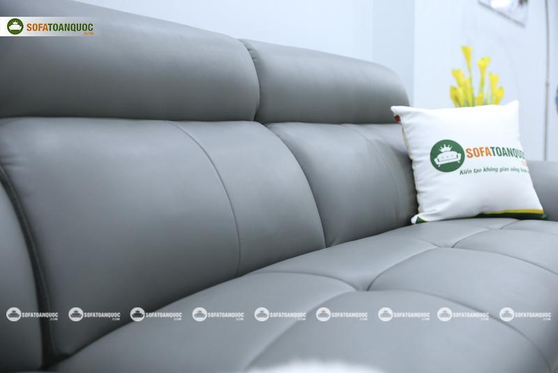 Ghế sofa da nhập khẩu mã QV-F1230P-5
