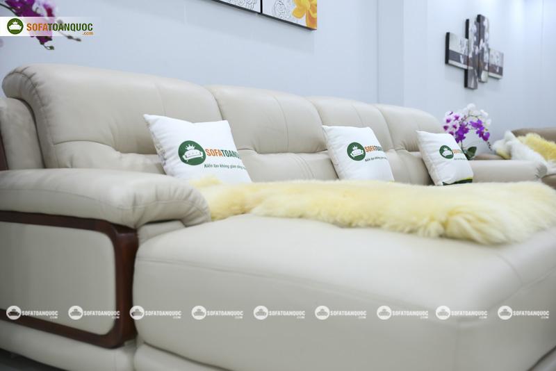 Sofa da nhập khẩu mã QV-3212P 7