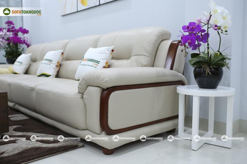 Sofa da nhập khẩu mã QV-3212P 5
