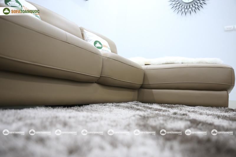 Sofa da nhập khẩu mã QV-911T 5