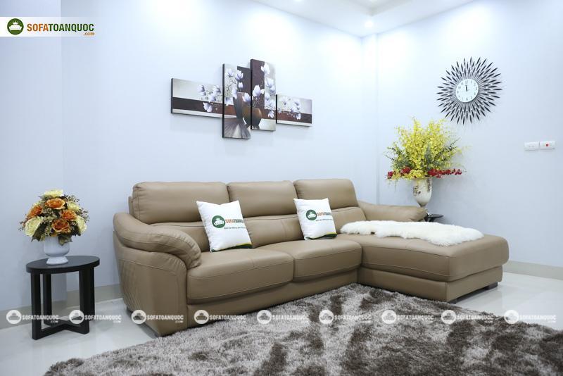 Sofa da nhập khẩu mã QV-911T 2