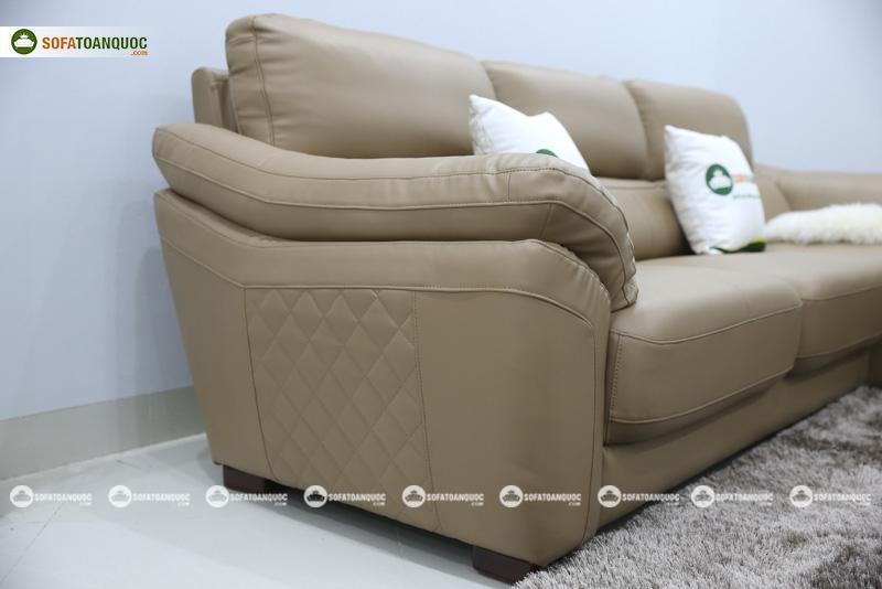 Sofa da nhập khẩu mã QV-911T 3
