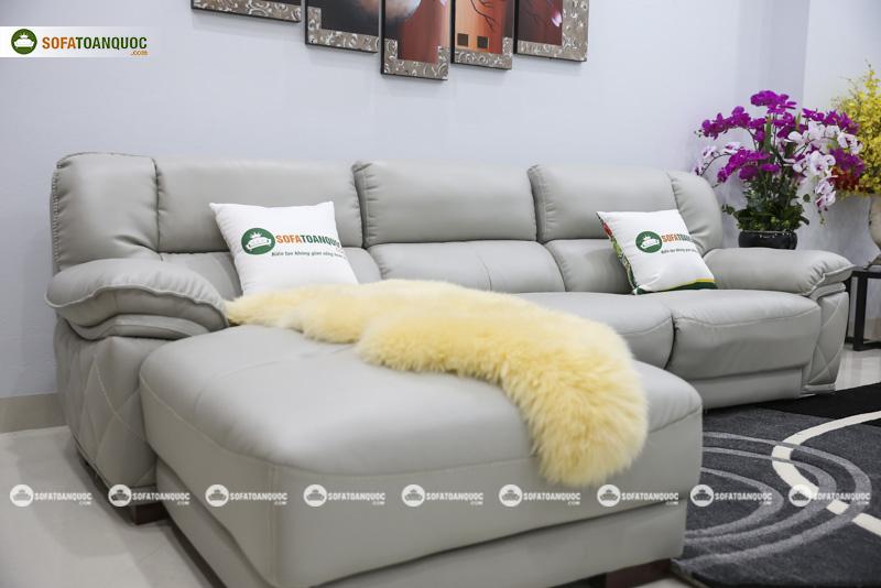 Sofa da nhập khẩu mã VH-07P-6