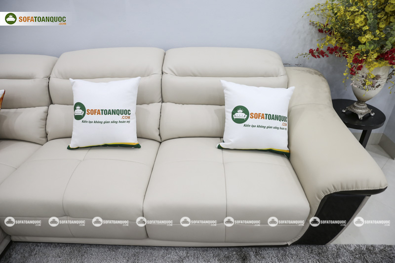 Sofa da nhập khẩu mã QV-913P 3