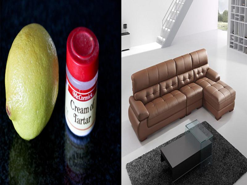 Bí quyết làm sạch ghế sofa da bị bám bẩn 3