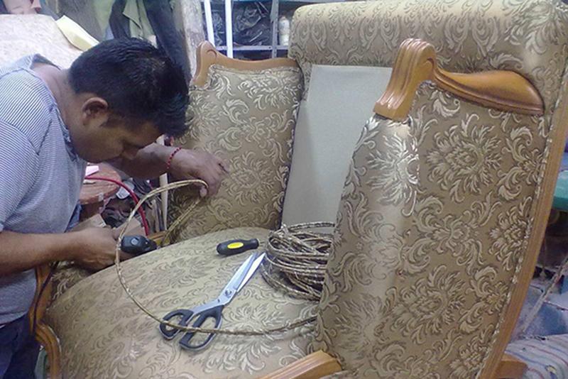 Dịch vụ nhận bọc lại ghế sofa ở Hà Nội 1