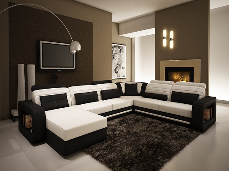 Ghế sofa góc phù hợp với không gian phòng khách nào? 1