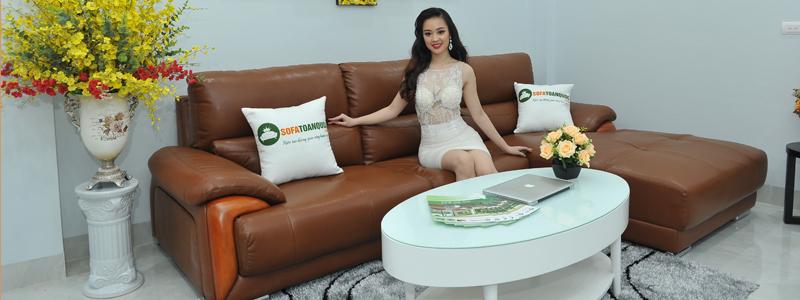 Bộ bàn ghế sofa góc l đẹp cao cấp nhập khẩu tại hà nội