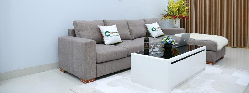 Bộ bàn ghế sofa vải đẹp giá rẻ tại hà nội
