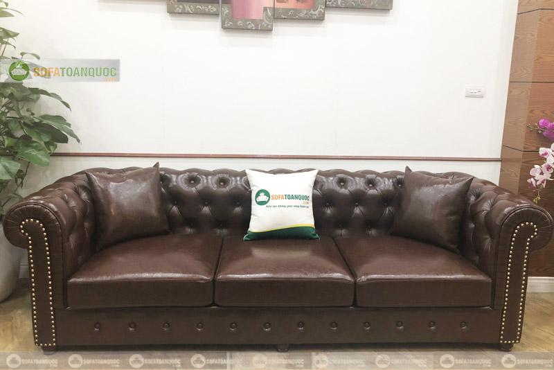 sofa văng dài tân cổ điển