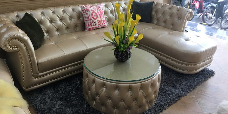 Bàn ghế sofa tân cổ điển châu âu cao cấp nhập khẩu tại hà nội