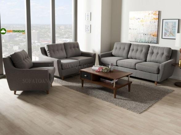 Nên mua ghế sofa vải màu gì thì ít bị bám bẩn?-1