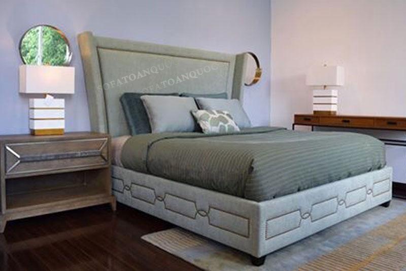 giường ngủ bọc vải mã 48-3