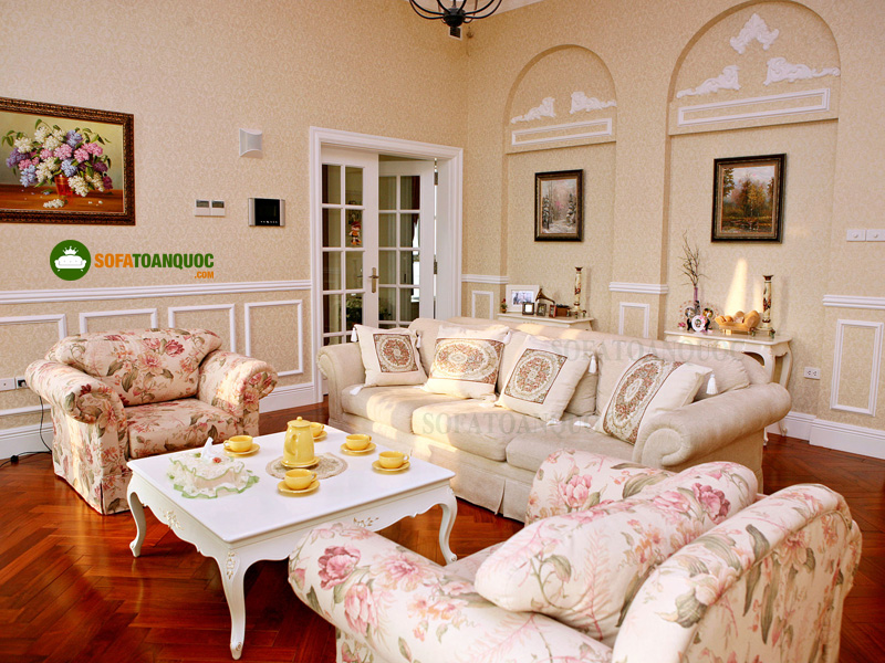 Ghế sofa vải mã 60-1