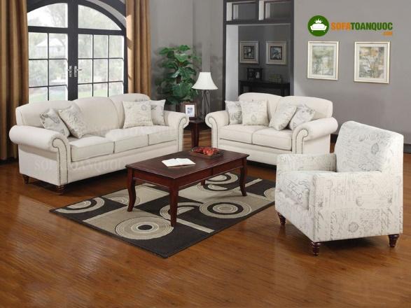 Sử dụng ghế sofa vải màu sáng khi bị bám bẩn có dễ làm sạch không?-2