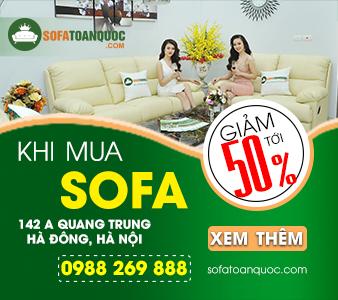 sofa toàn quốc khuyến mại