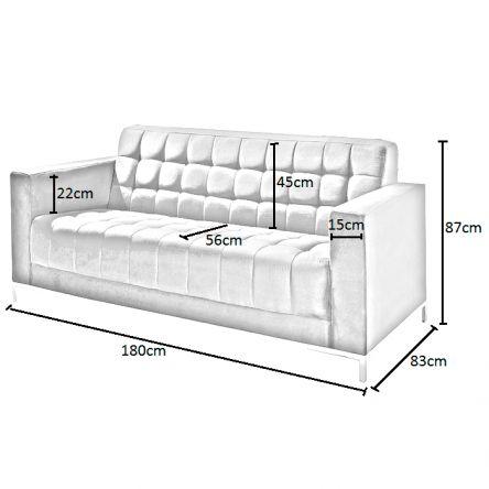 kích thước ghế sofa văng dài
