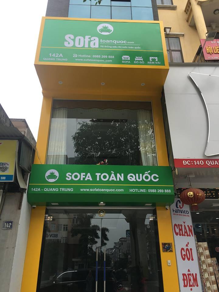 showroom bán ghế sofa trả góp tại Hà Nội