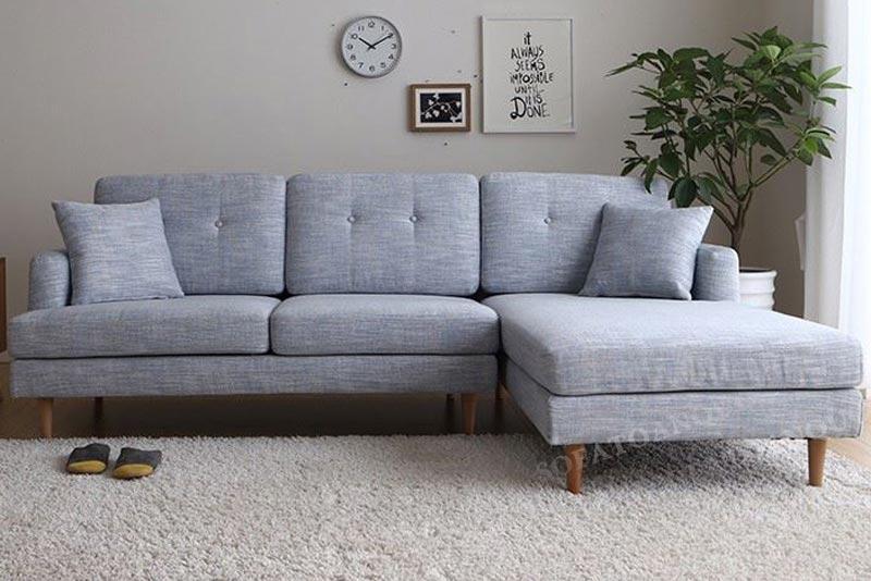 Sofa góc nhỏ gọn cho phòng khách nhỏ