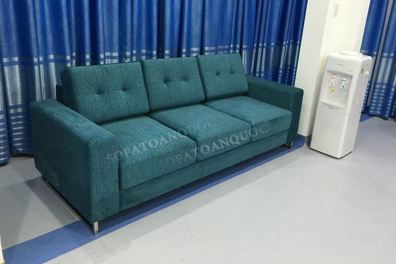 Sofa bọc nỉ đẳng cấp cho phòng khách
