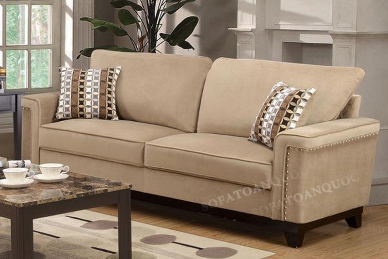 Mẫu sofa văng nỉ giá rẻ Hà Nội mã 68