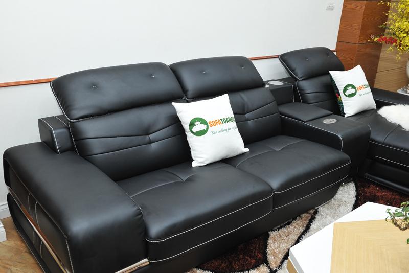 Sofa da nhập khẩu mã TQ-03T-7