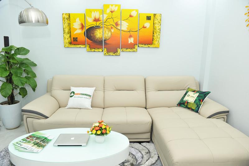 Sofa da nhập khẩu mã QV-1501T 7