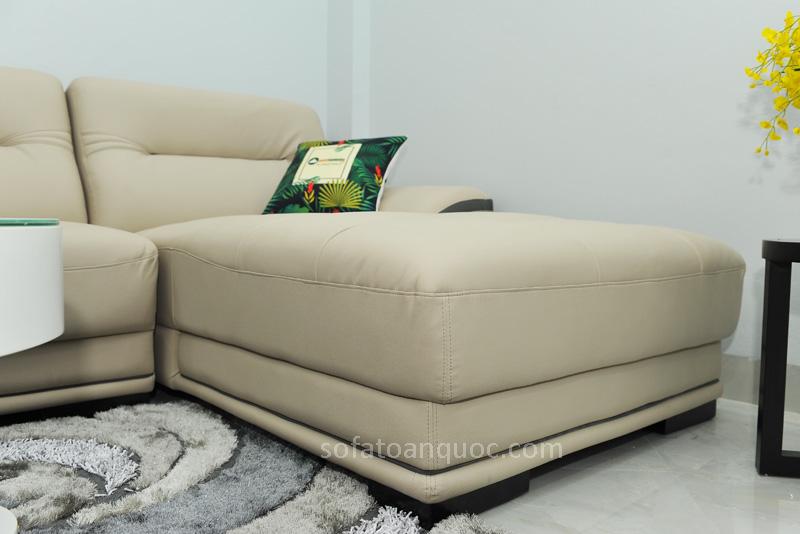 Sofa da nhập khẩu mã QV-1501T 10