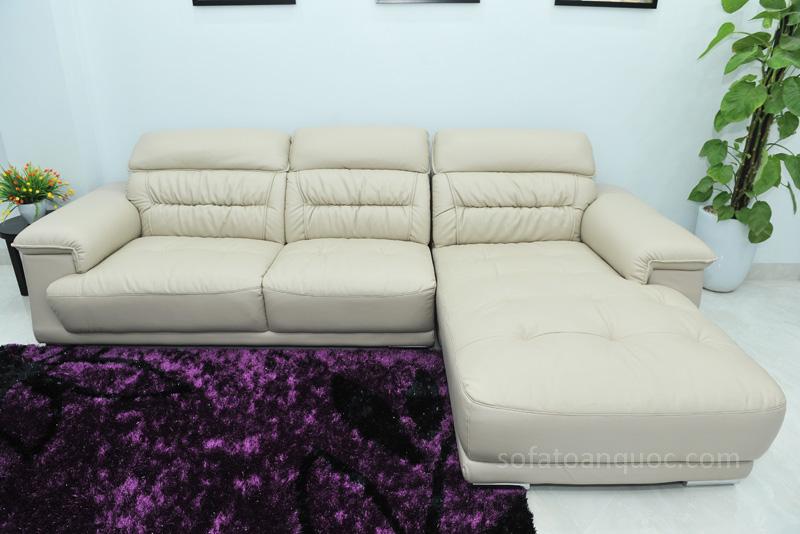 Sofa da nhập khẩu mã QV-F1621T-7