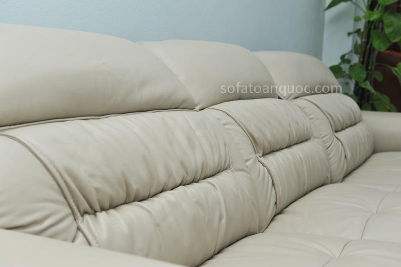 Sofa da nhập khẩu mã QV-F1621T-10