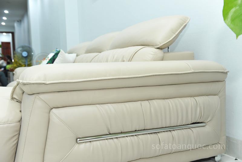 Sofa da nhập khẩu mã QV-F1621T-9