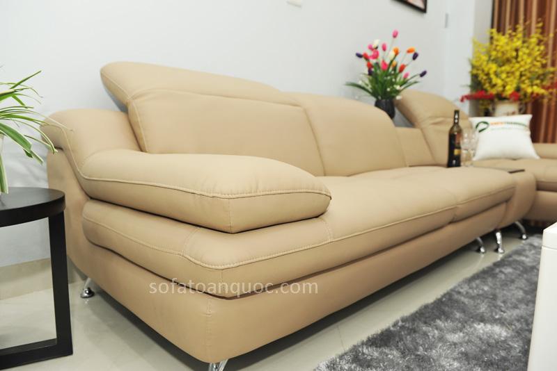 Sofa da nhập khẩu mã TQ-09T-7
