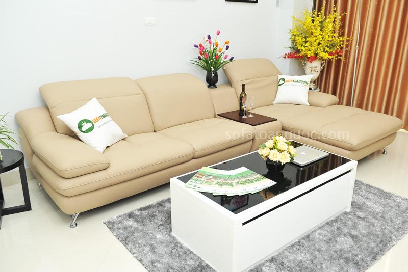Sofa da nhập khẩu mã TQ-09T-6