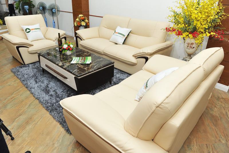 Sofa da nhập khẩu mã TQ-02-5