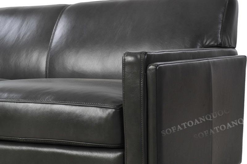 Sofa bọc da đẹp cho phòng khách