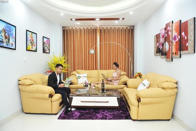 Bàn ghế sofa da cao cấp nhập khẩu tại sofa toàn quốc