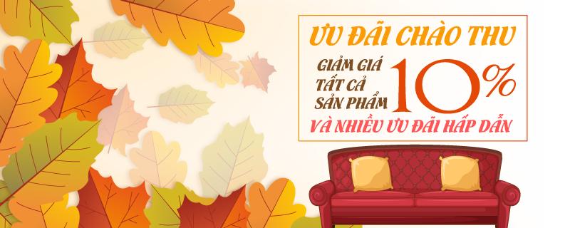 Chào mừng mùa thu sofa toàn quốc