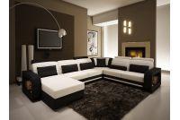 Ghế sofa góc phù hợp với không gian phòng khách nào?