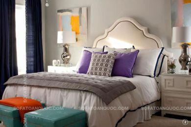 giường ngủ bọc vải mã 07
