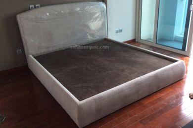 giường ngủ bọc vải mã 11